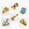 Jungle Zoo Animals Tattoos (12)